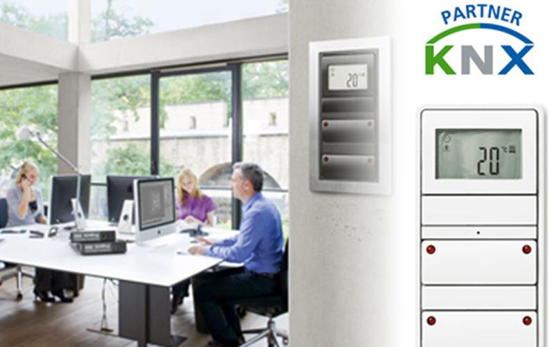 Intelligente bygningsinstallationer med KNX